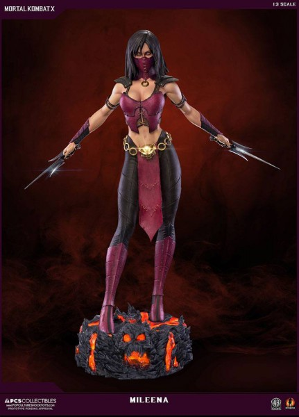 Mortal Kombat X - Mileena Statue / Mixed Media: Pop Culture Shock