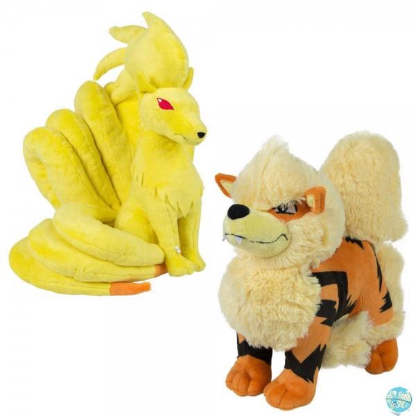 Pokemon - Vulona & Arkani Plüschfiguren: Tomy