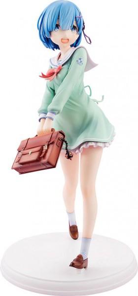 Re:ZERO -Starting Life in Another World - Rem Statue / High School Uniform Version: Kadokawa