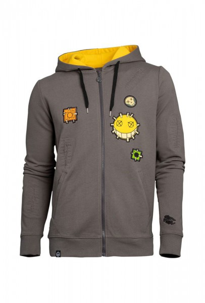 Overwatch - Hoody mit Reißverschluß / Junkrat - Unisex XL: Level Up Wear