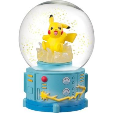 Pokemon - Pikachu Schneekugel / Slow Snow Life: Gray Parker Service