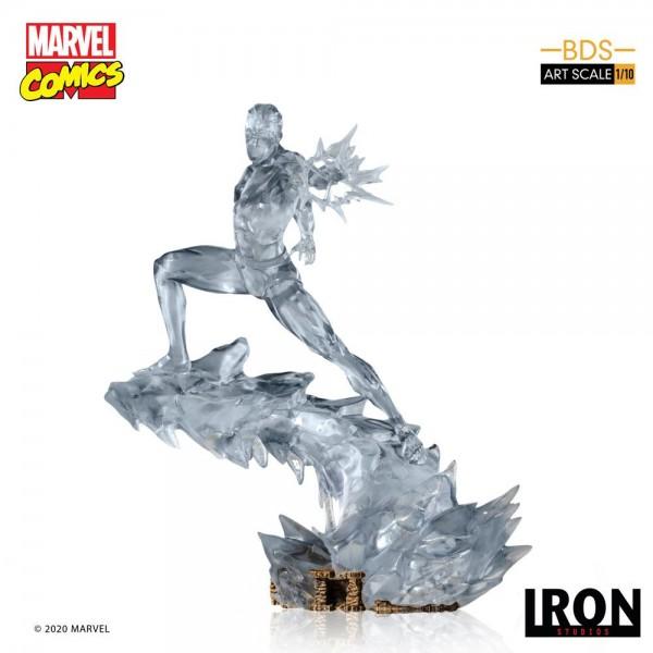 Marvel Comics - Iceman Statue / BDS Art Scale: Iron Studios