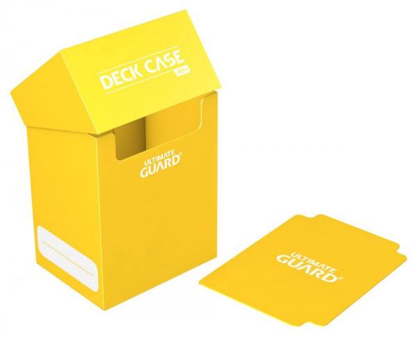 Ultimate Guard - Deck Case 80+ / XenoSkin Gelb