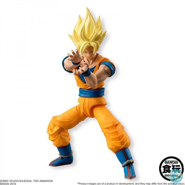 Dragonball Z SSJ2 Son Goku Actionfigur - SHODO Neo: Bandai