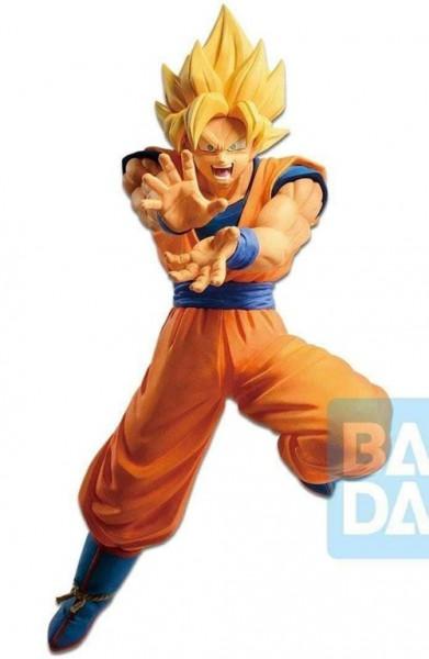 Dragon Ball - SSJ Son Goku Figur / The Android Battle: Banpresto