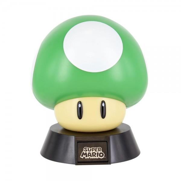 Super Mario - 3D Icon Lampe / 1 Up Mushroom: Paladone