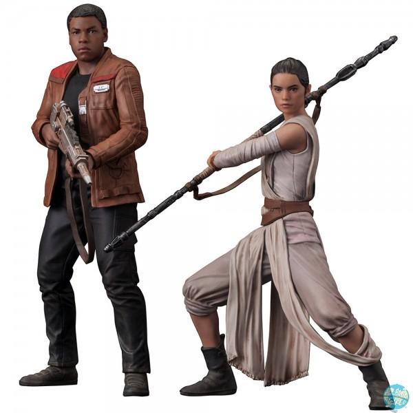 Star Wars Rogue One - Rey & Finn Doppel-Statue - ARTFX+: Kotobukiya