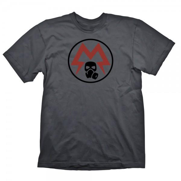 Metro Exodus - Spartan Logo T-Shirt - Unisex XL: Gaya