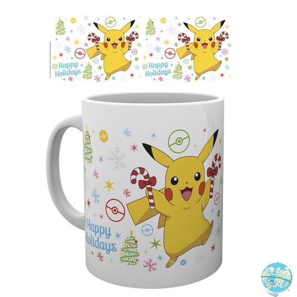 Pokemon - Tasse - Pikachu XMAS Motiv: GYE