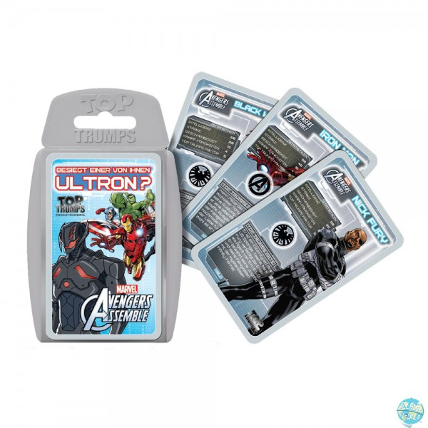 Marvel Avengers Kartenspiel Top Trumps - Deutsche Version: Winning Moves