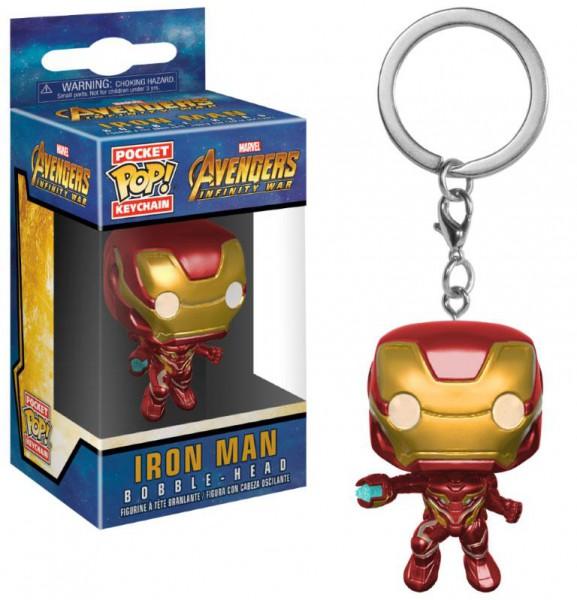 Avengers AOU - Iron Man Schlüsselanhänger - POP: Funko