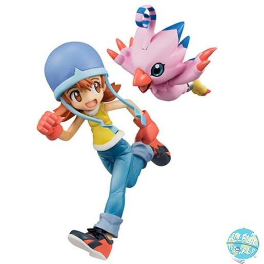 Digimon Adventure - Sora & Piyomon Statue - G.E.M. Serie: MegaHouse