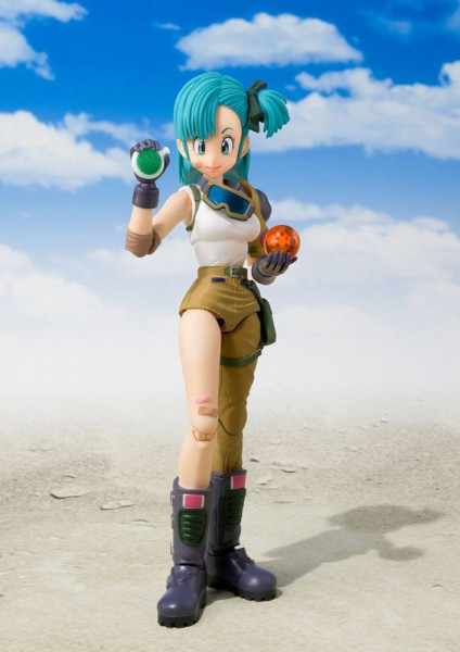 Dragon Ball - Bulma Actionfigur / S.H.Figuarts: Bandai