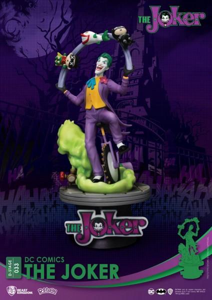 DC Comics - The Joker Diorama / D-Stage: Beast Kingdom Toys