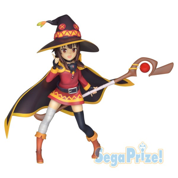 Kono Subarashii Sekai ni Shukufuku o! 2 - Megumin Figur / LPM Figure: Sega