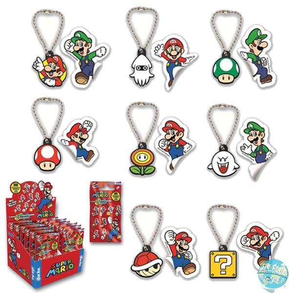 Nintendo TYE Super Mario Metall Schlüsselanhänger