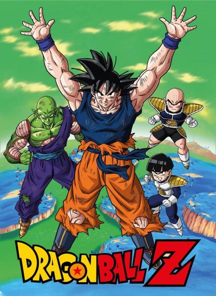 Dragon Ball - Fleecedecke mit Namek Motiv: SD Toys