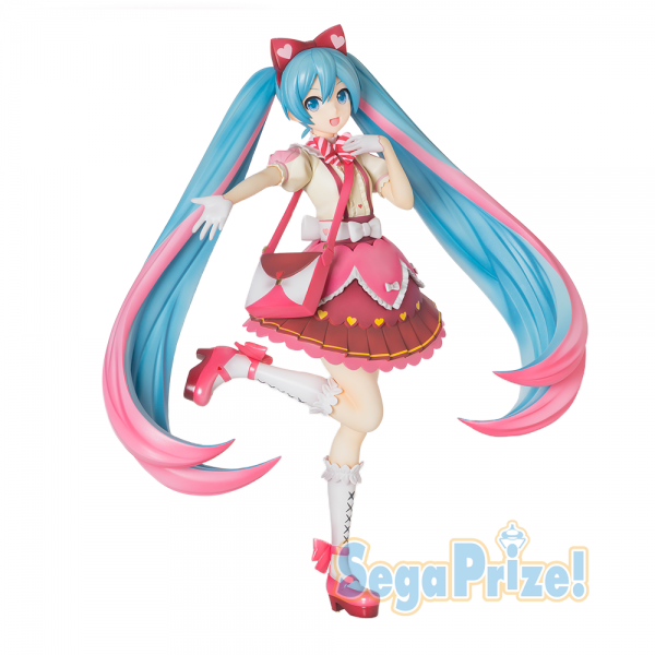 Vocaloid - Hatsune Miku Figur / SPM - Ribbon x Heart Version: Sega