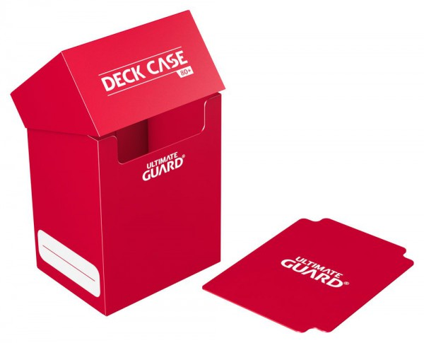 Ultimate Guard - Deck Case 80+ / Rot