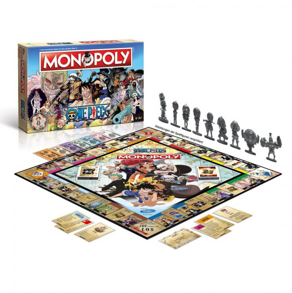 One Piece - Monopoly - Deutsche Version: Winning Moves