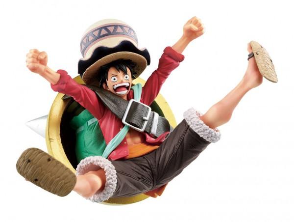 One Piece: Stampede - Monkey D. Ruffy Figur / Ichibansho: Bandai Ichibansho