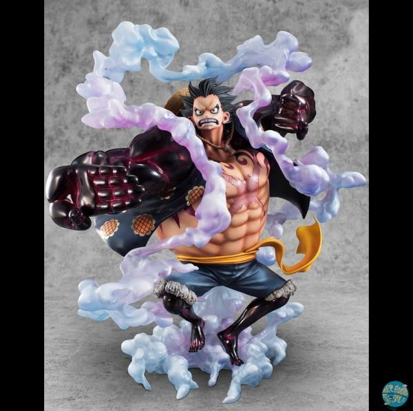 One Piece - Ruffy Gear 4 Statue - Excellent Model P.O.P - SA Maximum: MegaHouse