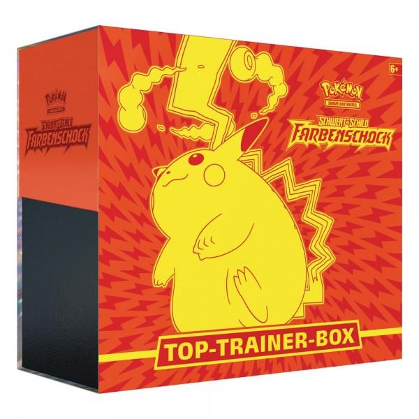 Pokémon Schwert und Schild - Farbenschock Top-Trainer-Box: Pokemon Company