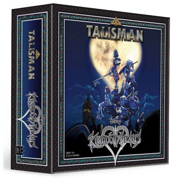 Disney Brettspiel Talisman - Kingdom Hearts Edition / Englische Version: USAopoly