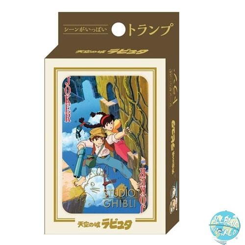 Studio Ghibli - Spielkarten - Das Schloss im Himmel: Benelic