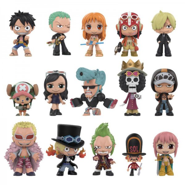 One Piece - 1x Minifigur (Blindbox) / Mystery Mini One Piece Version: Funko