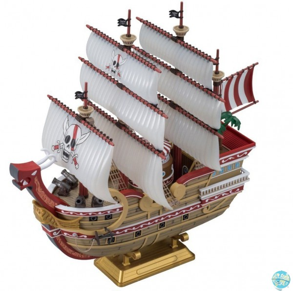 One Piece - Red Force Modell-Kit II - Grand Ship Collection: Bandai