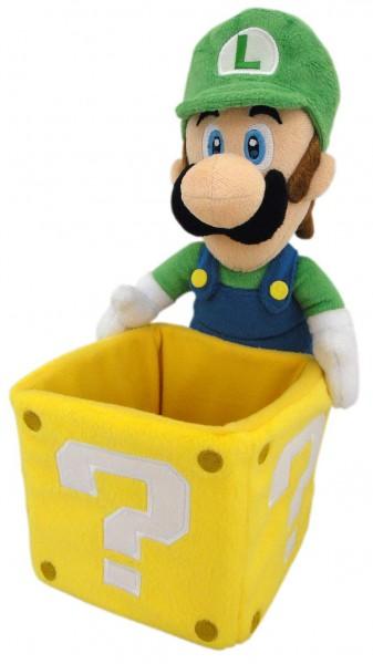 Nintendo - Luigi mit Box Plüschfigur: Together