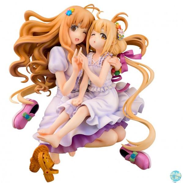The Idolmaster Cinderella Girls - Kirari Moroboshi & Anzu Futaba Statue: Phat!