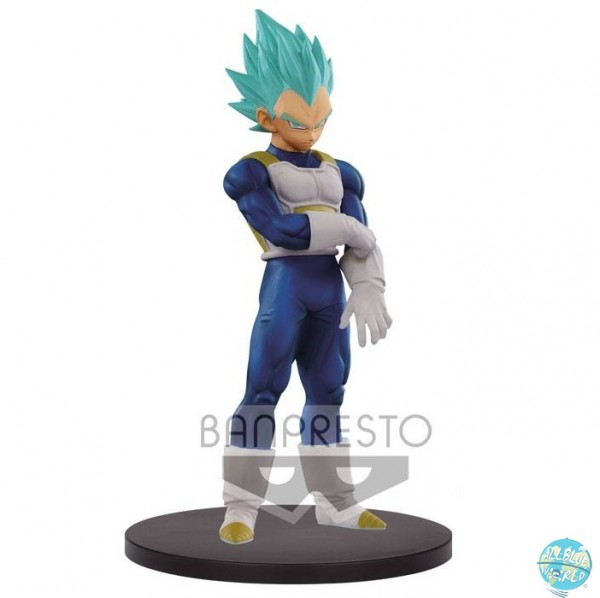 Dragonball Super - SSJ Blue Vegeta Figur - DXF / The Super Warriors Vol. 5: Banpresto