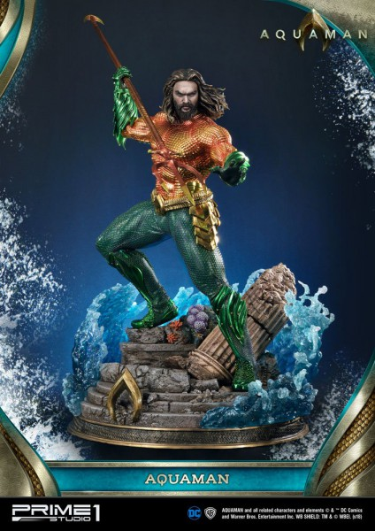 DC Comics - Aquaman Statue: Prime 1 Studio