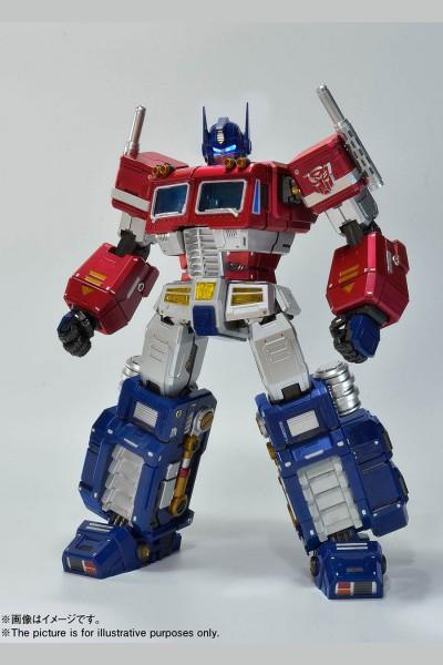 Transformers - Otimus Prime Actionfiur: Alphamax