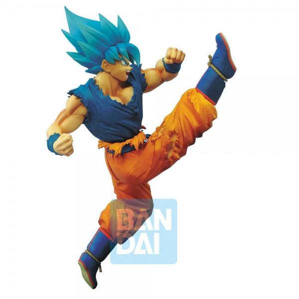 Dragonball Super - SSGSS Son Goku Figur / Z-Battle: Banpresto