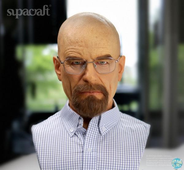 Breaking Bad - Walter White Life-Size Büste: Supacraft