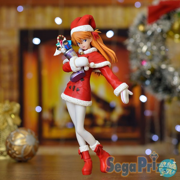 Evangelion - Asuka Langley Figur - PM / Christmas Version: SEGA
