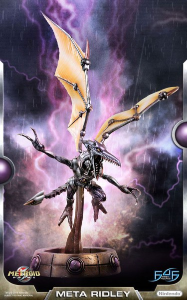 Metroid Prime - Meta Ridley Statue: First 4 Figures
