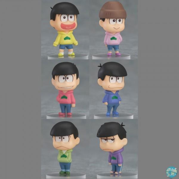 Osomatsu-san - Mini Figuren - 6-er Figuren-Set: Orange Rouge