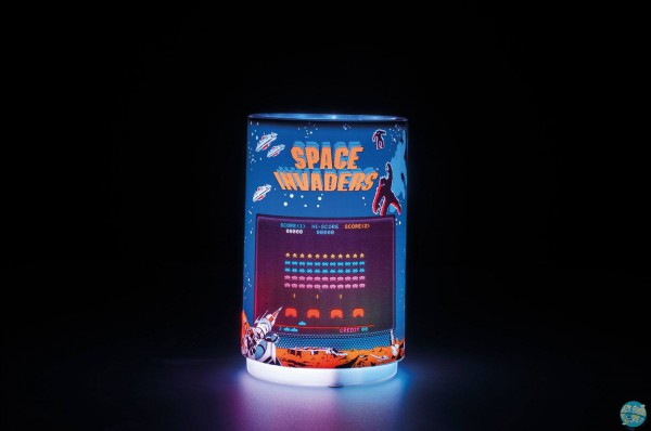 Space Invaders - Projection Leuchte: Paladone Products