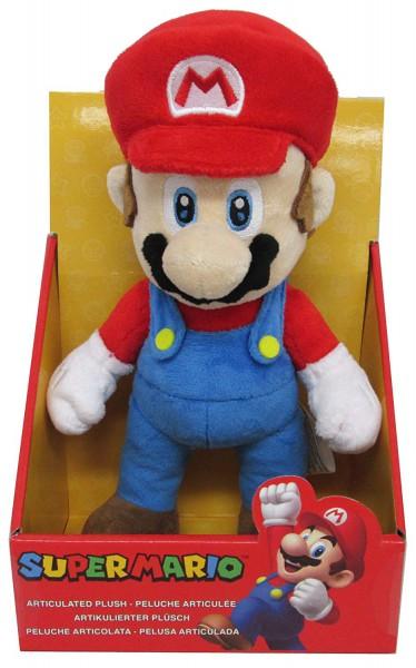 Nintendo - Mario bewegliche Plüschfigur:Together