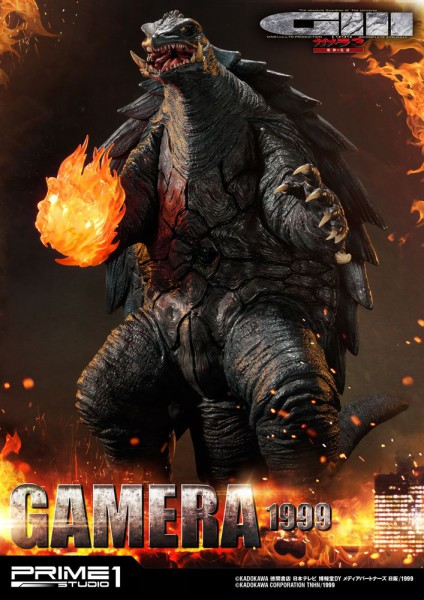 Gamera 3 The Revenge of Iris - Gamera Statue: Prime 1 Studio