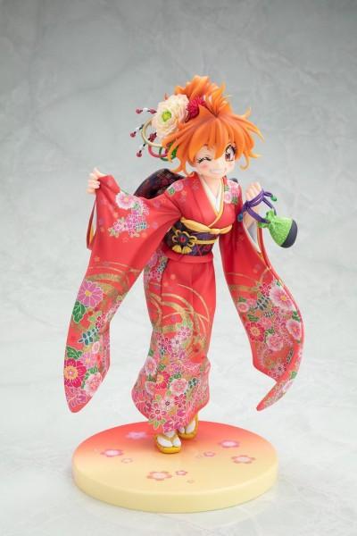 Slayers - Lina Inverse Statue / Kimono Version: Kadokawa