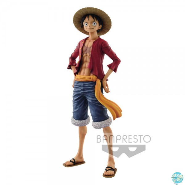 One Piece - Ruffy Figur - The Grandline Man / Grandista: Banpresto