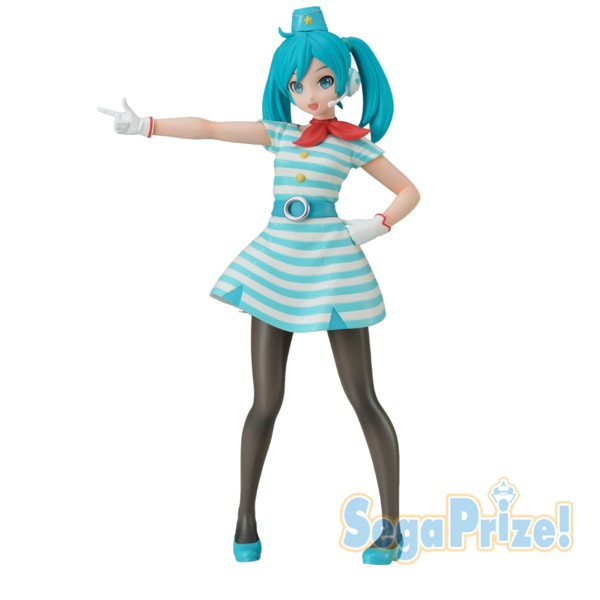 Hatsune Miku -Project DIVA- Arcade Future Tone - Hatsune Miku Figur / SPM - CA Version: Sega
