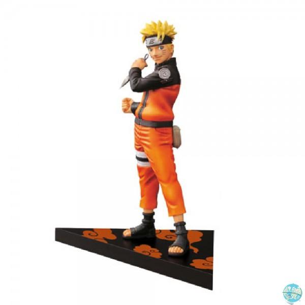 Naruto Shippuden - Naruto Uzumaki Figur - DXF / Shinobi Relation: Banpresto