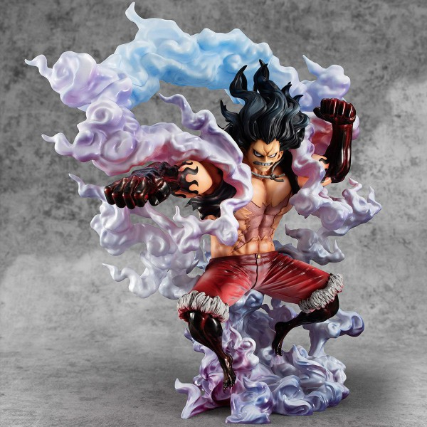 One Piece - Monkey D. Ruffy Statue / SA-Maximum - Gear 4 Snake Man: MegaHouse