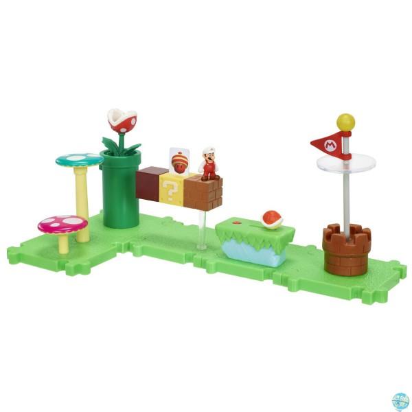 Mario Bros U Microland Welt W1-Acorn Plains,Fire M